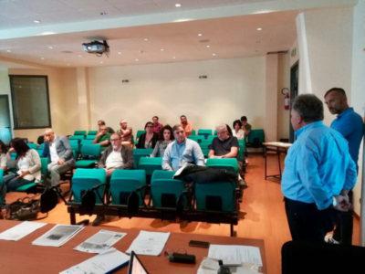 L'incontro di Arcidosso, presso la sede dell'Unione dei Comuni Montani Amiata Grossetana