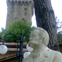 Il busto di Isidoro Maggi nel Parco del Pero copia