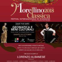 Locandina Geomatica e Morellino Classica Festival 20-10-2018