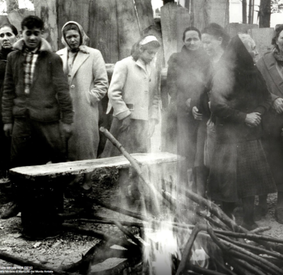 1958 Siele le donne sostenevano la battagla dei minatori