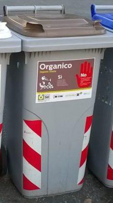 bidone organico sei toscana
