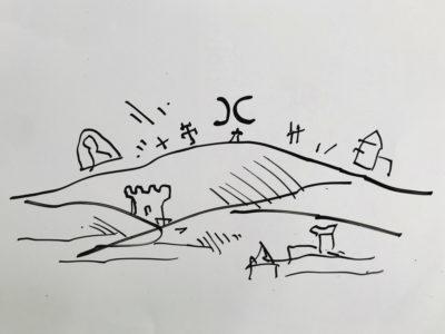 disegno amiata
