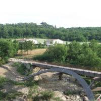 ponte peruzzi bagno vignoni orcia